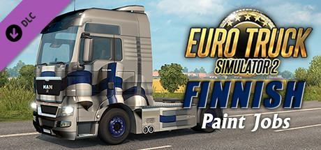 Euro Truck Simulator 2 - Finnish Paint Jobs Pack