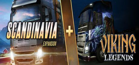 Euro Truck Simulator 2 - Scandinavia + Viking Legends