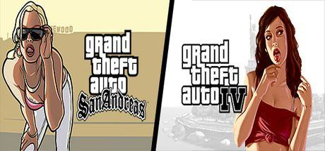 Grand Theft Auto 4 + Grand Theft Auto: San Andreas