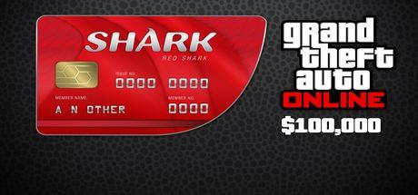 Grand Theft Auto Online: Red Shark Cash Card