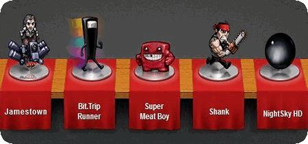 Humble Indie Bundle 4 (Super Meat Boy + Shank + NightSky + Bit.Trip Runner + Jamestown)