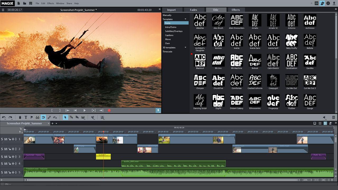 Купить MAGIX Movie Edit Pro 2016 Plus лицензию по низкой цене