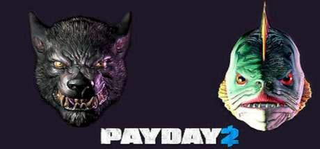PAYDAY 2: Lycanwulf and The One Below Mask