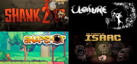 Shank 2 + Snapshot + Closure + The Binding of Isaac