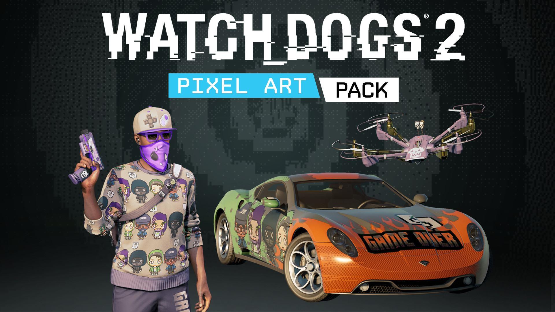 Купить Watch_Dogs 2 - Pixel Art - лицензионный ключ steam ...